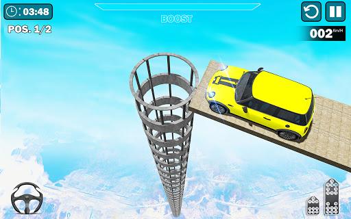 Mega Ramp Stunts Free: Car Racing Stunts Game screenshots 1