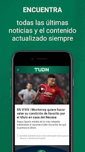 TUDN: Univision Deportes Network Screenshot