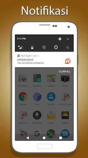 Cek Resi dan Ongkir Kiriman apktram screenshots 2