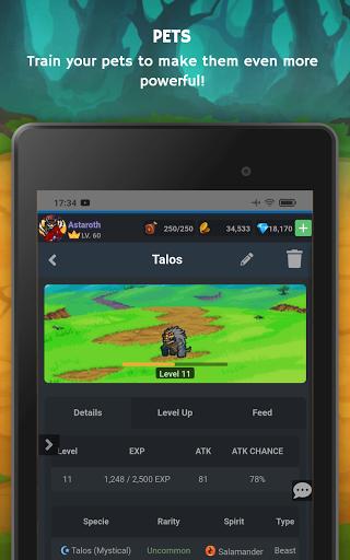 Mana Storia - Simple Browser MMORPG (Beta) 1.3 screenshots 22