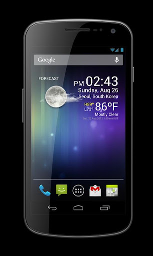 Weather Clock Widget 1.9.8.3-30 Screenshots 5