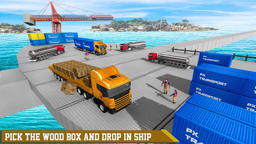 Euro Truck Driving Games: Forklift Games 2.8 screenshots 1