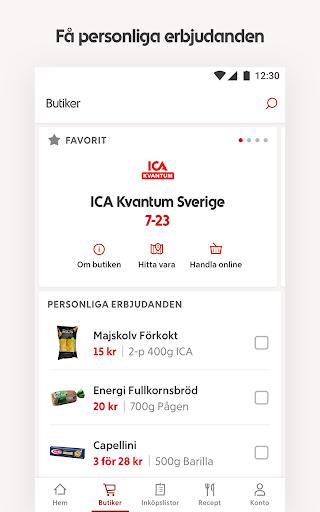 ICA – recept, erbjudanden och inköpslista  screenshots 4