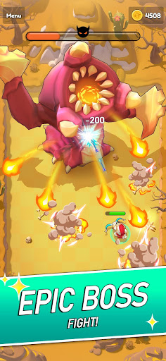 Magic Archer: Hero hunt for gold and glory apkslow screenshots 4