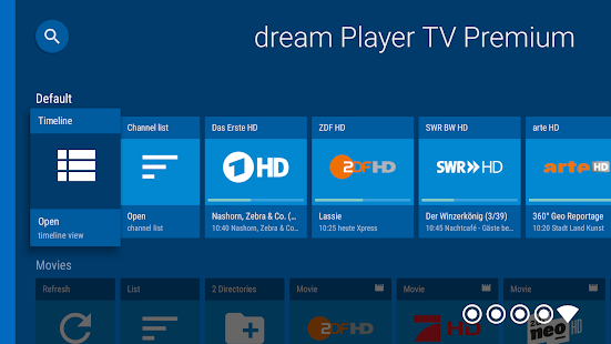 dream Player for Android TV Screenshot