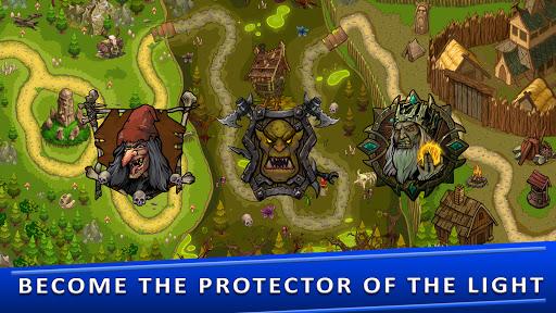 Tower Defense Games - GOLDEN LEGEND 2.5 screenshots 6