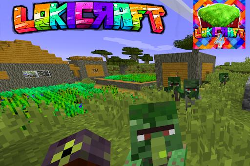 Lokicraft 4: Building craft  screenshots 2