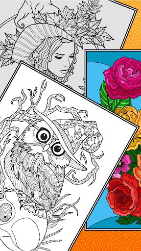 Colorish - free mandala coloring book for adults  screenshots 7
