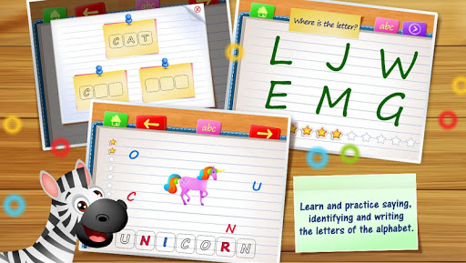 123 Kids Fun ALPHABET: Alphabet Games for Kids 4.05 screenshots 2