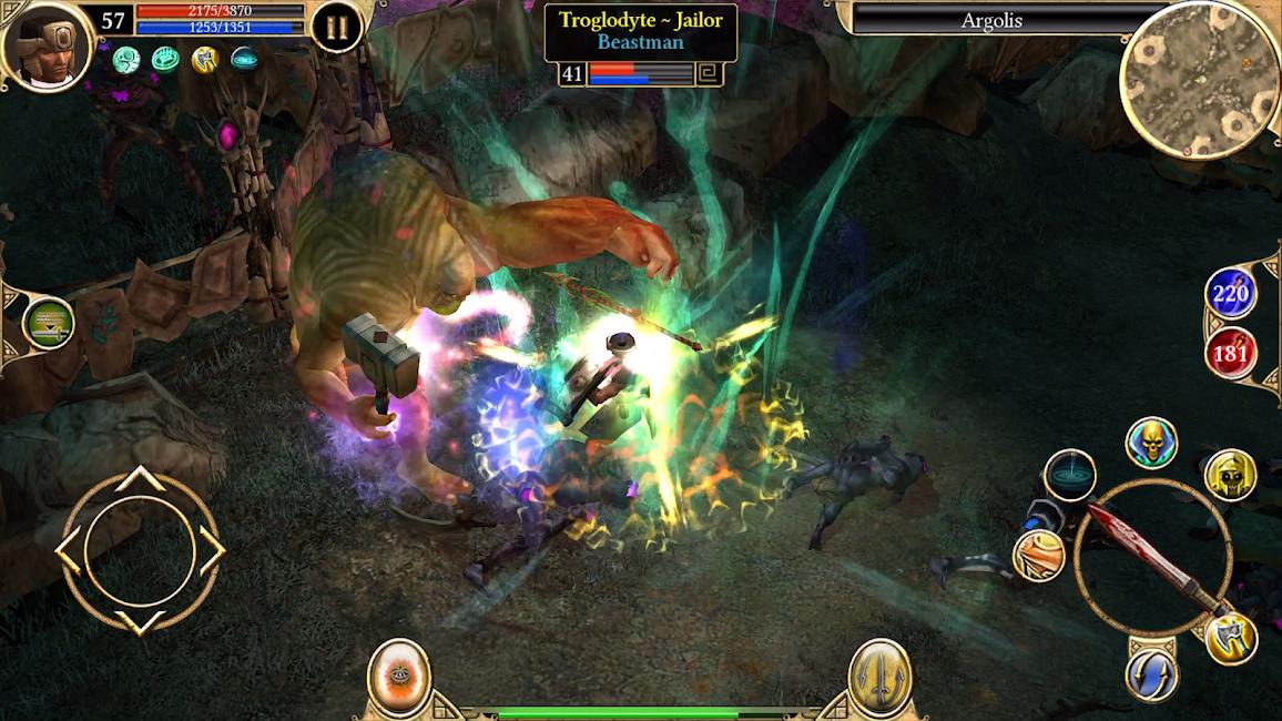 Phiên bản huyền thoại Titan Quest APK 2.9.9 2