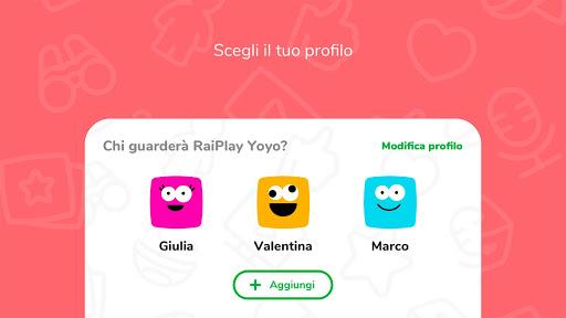RaiPlay Yoyo 1.1.3 Screenshots 2