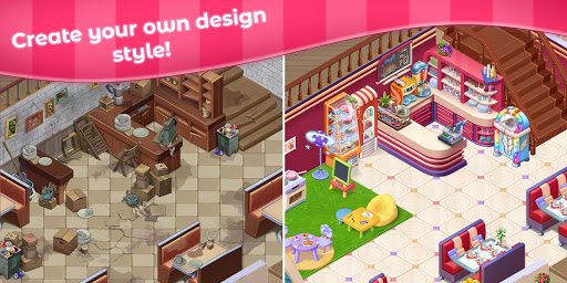 Grand Cafe Storyuff0dNew Puzzle Match-3 Game 2021 2.0.26.1 screenshots 17