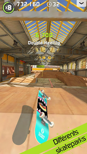 Code Triche Touchgrind Skate 2 APK MOD (Astuce) screenshots 3