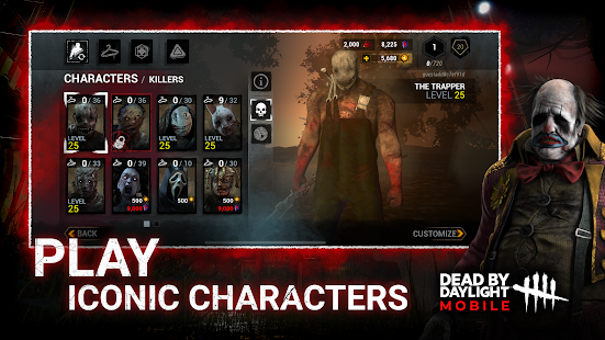 Dead by Daylight Mobile - Multiplayer Horror Game screenshots 5