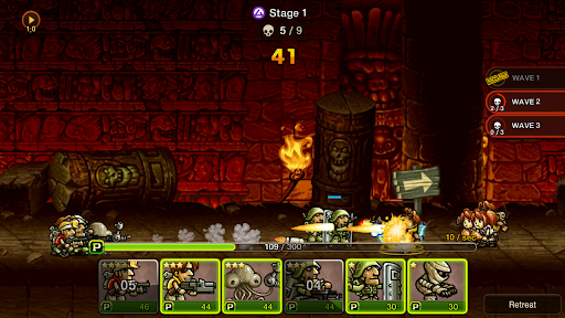 Metal Slug Infinity: Idle Game  screenshots 14