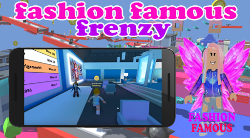 Fashion Famous Frenzy Dress Up Runway Show obby apklade screenshots 1