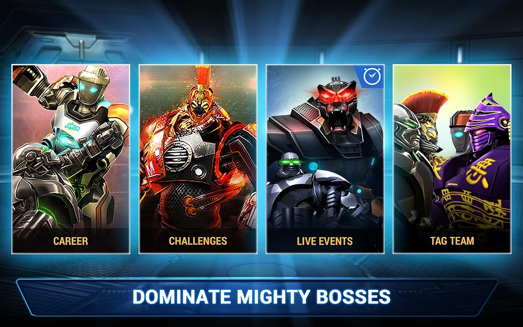 Real Steel Boxing Champions MOD poster 21