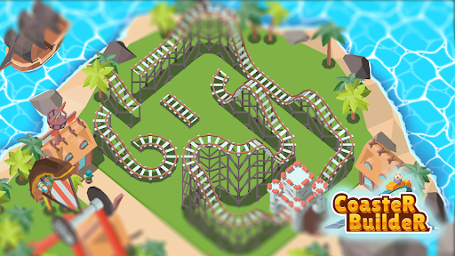 Coaster Builder: Roller Coaster 3D Puzzle Game apkdebit screenshots 16