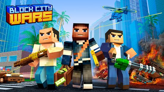 Block City Wars: Pixel Shooter with Battle Royale screenshots apk mod 1
