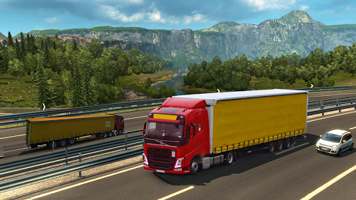 Truck Simulator Transport Driver 3D : Europe Truck 1.6 Screenshots 4