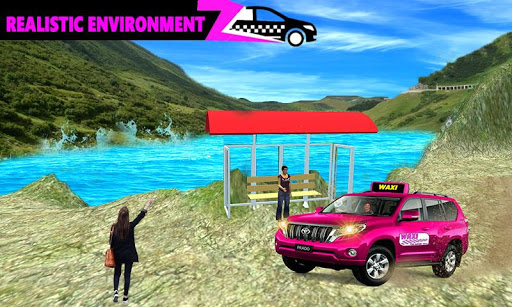 New York Taxi Duty Driver: Pink Taxi Games 2018  screenshots 6
