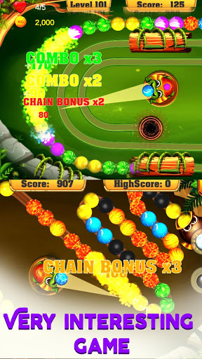 Marble Marble:Bubble pop game, Bubble shooter FREE 1.5.3 screenshots 7