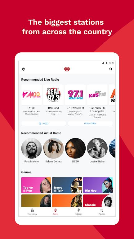 iHeartRadio: Radio, Podcasts & Music On Demand poster 7
