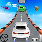 Car Stunt Racing Games-Mega Ramp Car Stunt Driving