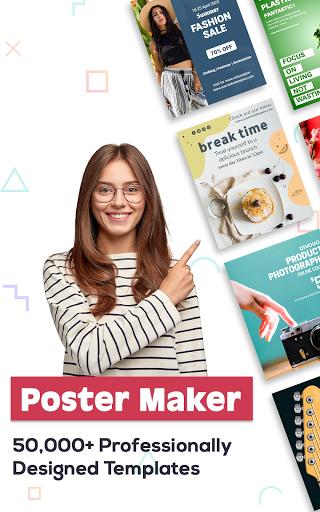 Poster Maker 2021 - Create Flyers & Posters  Screenshots 17