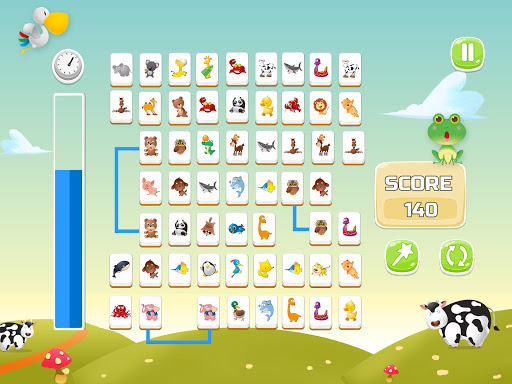 Connect Animals : Onet Kyodai (puzzle tiles game)  screenshots 8