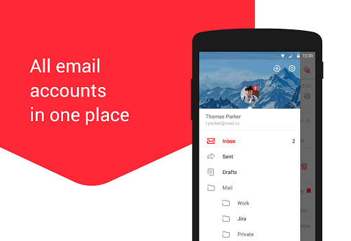 myMail: Email App for Gmail, Hotmail & AOL E-Mail 12.17.0.31052 Screenshots 4