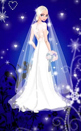 u2744 Icy Wedding u2744 Winter frozen Bride dress up game 1.0.0 screenshots 3