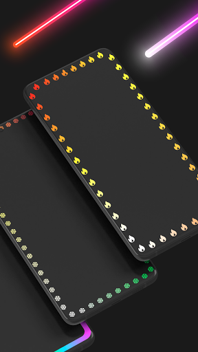 Edge Lighting Colors - Round Colors Galaxy  Screenshots 4