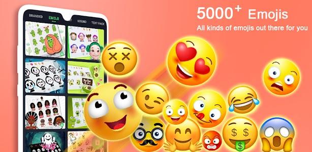 ❤️Emoji keyboard - Cute Emoticons, GIF, Stickers 3.4.2609