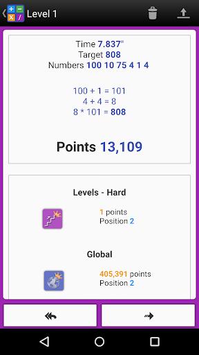 Numbers Game! 6 Countdown Math apkdebit screenshots 15