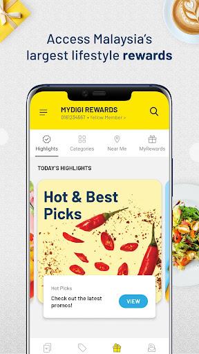 MyDigi Mobile App 12.0.0 Screenshots 18