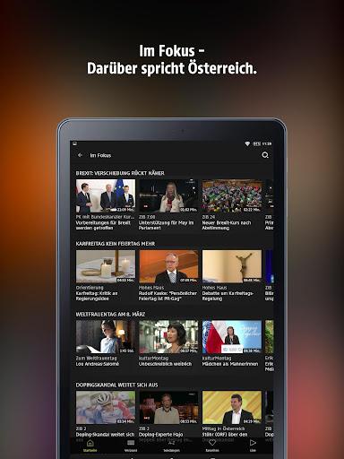 ORF TVthek: Video on demand android2mod screenshots 9