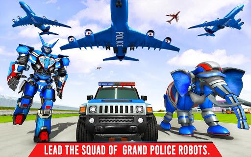 Police Elephant Robot Game: Police Transport Games 1.0.9 Screenshots 12
