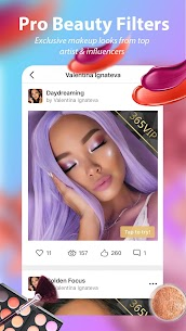 Perfect365: One-Tap Makeover Mod 8.57.17 Apk [Unlocked] 2