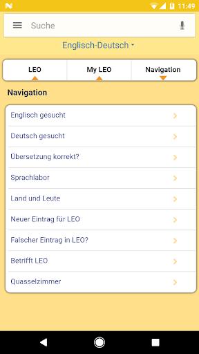 LEO dictionary 7.1.10 screenshots 5