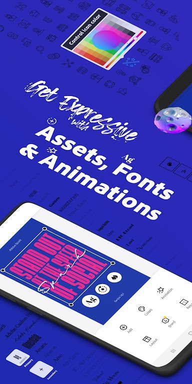 Adobe Spark Post: Graphic Design & Story Templates  poster 2
