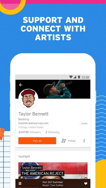 SoundCloud - Play Music, Audio & New Songs screenshot 3