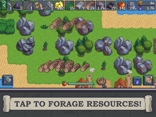 Tap Craft: Mine Survival Sim 1.1.9 screenshots 1