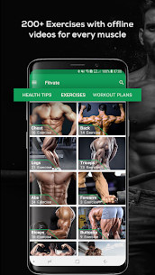 Fitvate – Home & Gym Workout Trainer Fitness Plans 1