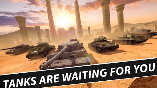 Battle Tanks: Game - Free Tank Games Military PVP  screenshots 1