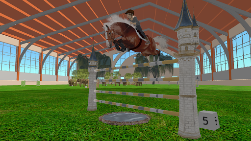 Jumpy Horse Show Jumping screenshots 11