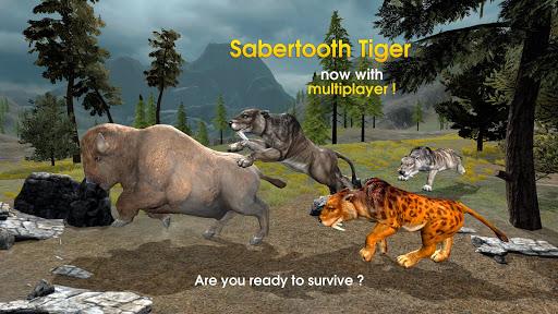 Sabertooth Tiger Chase Sim  screenshots 1