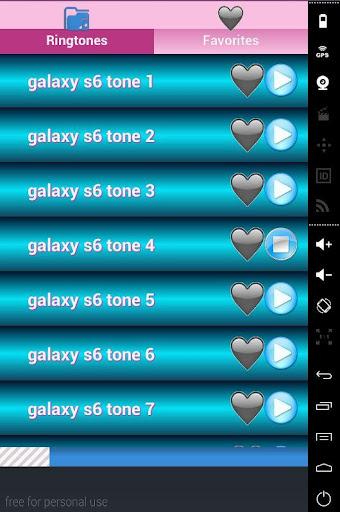ringtones S6 edge galaxy screenshots 2