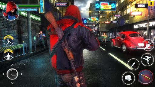 Incredible SuperHero Games : Crime City Gangster screenshots 4
