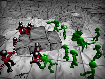 Battle Simulator: Stickman Zombie 6